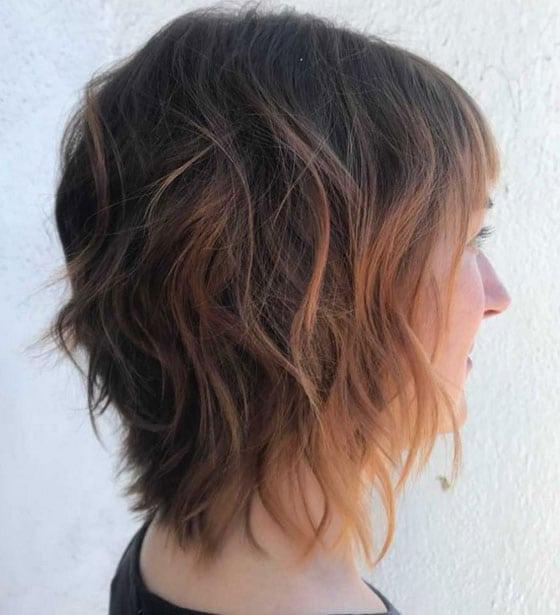 Carré Plongeant Cheveux Fins