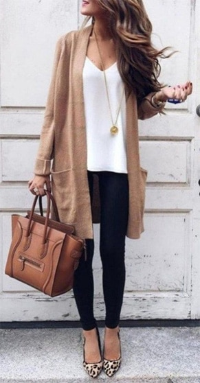 Look Moderne et casual
