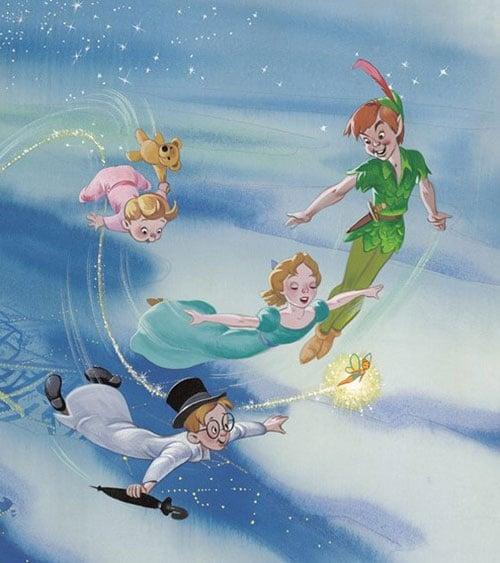 citation disney Peter Pan