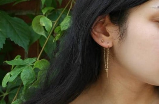 Piercing Simple à l'oreille