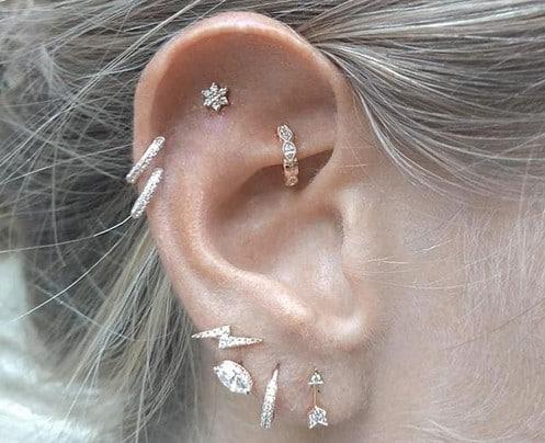 Piercings Brillants