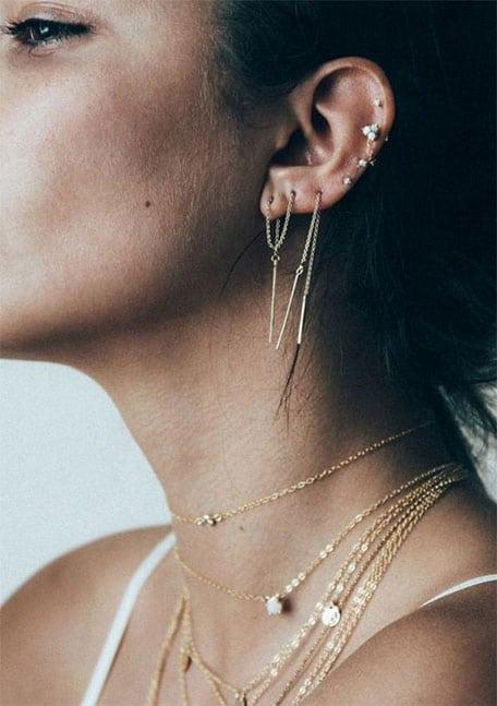 Piercings Chaines