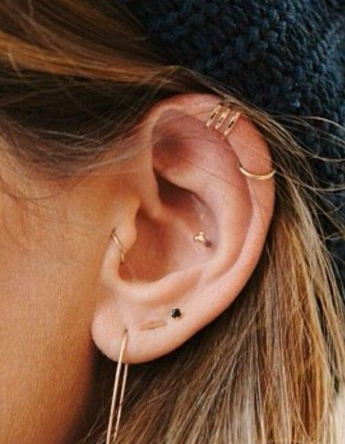 Piercings Discrets à l'oreille