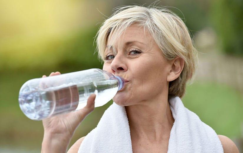 Boire de l'eau tous les jours