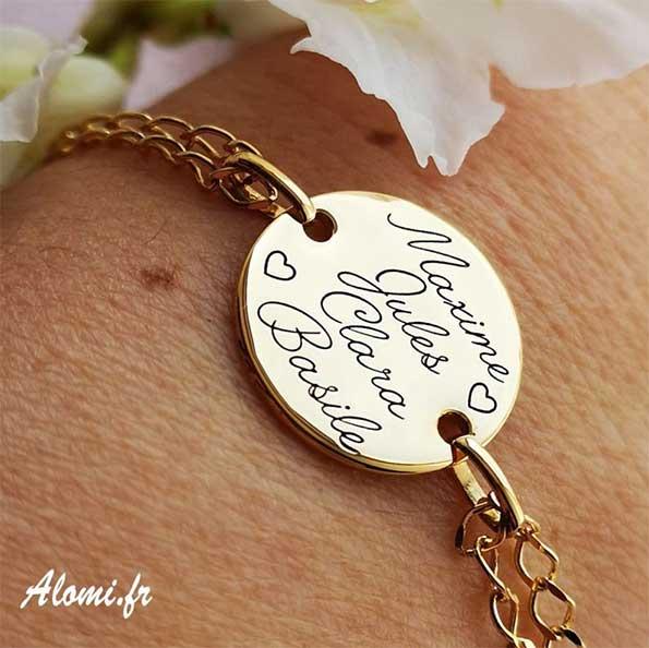 Bracelet Prenom Grave