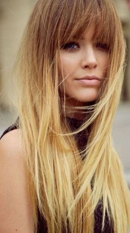 Ombré Blond Platine