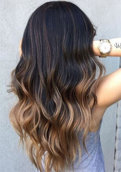 Ombré Hair Brune
