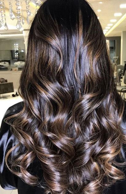 Ombré Hair Cheveux Foncés