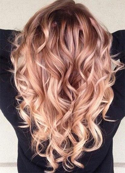 Ombré Hair Cuivré