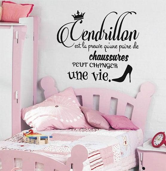 Stickers pour décorer chambre fille