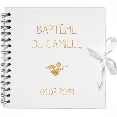 Album Photo Bapteme Personnalisé © Berceau Magique