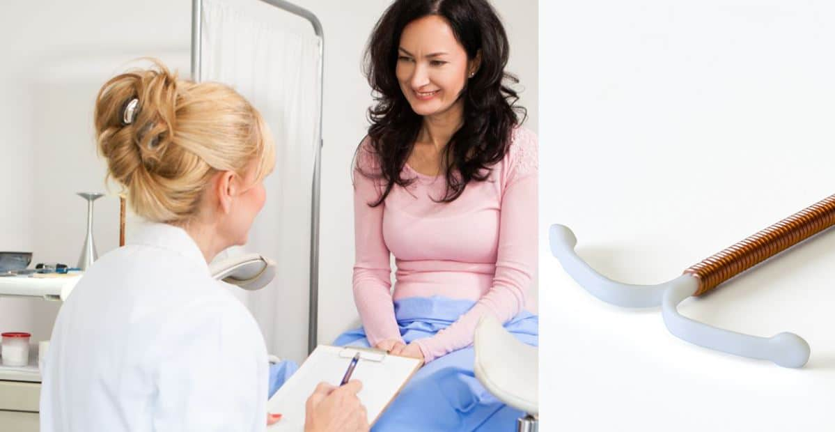 Femme En Consultation Pour La Pose D'un Sterilet