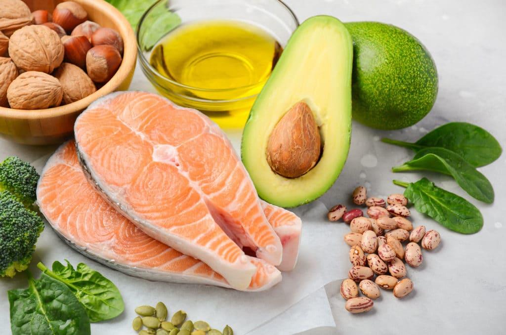 Choix d'aliments proteinés sains pour le cœur