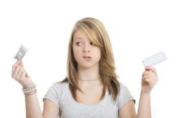A Woman Choosing Between Birth Control Methods