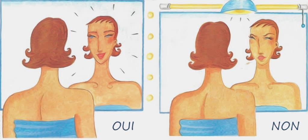 Bon Eclairage Pour Mettre Du Blush
