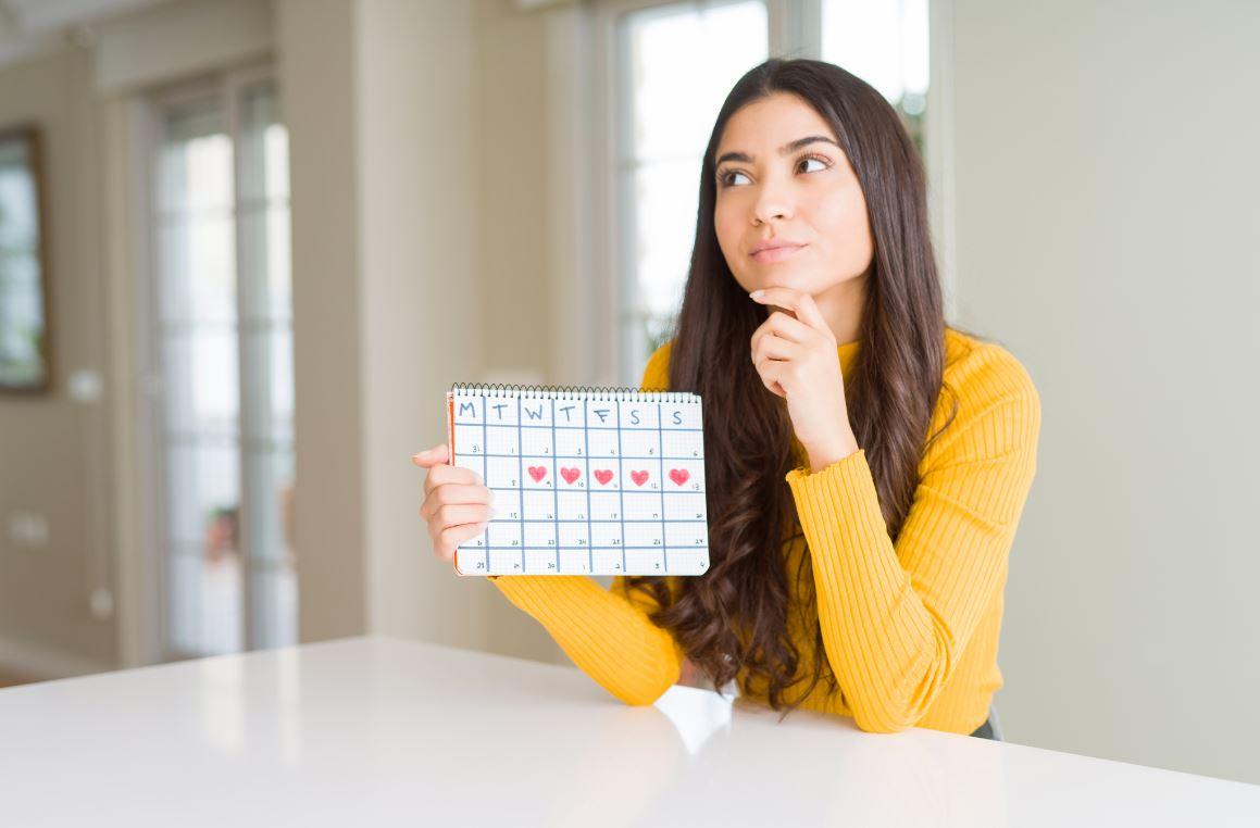 Femme Durée Menstruations Règles