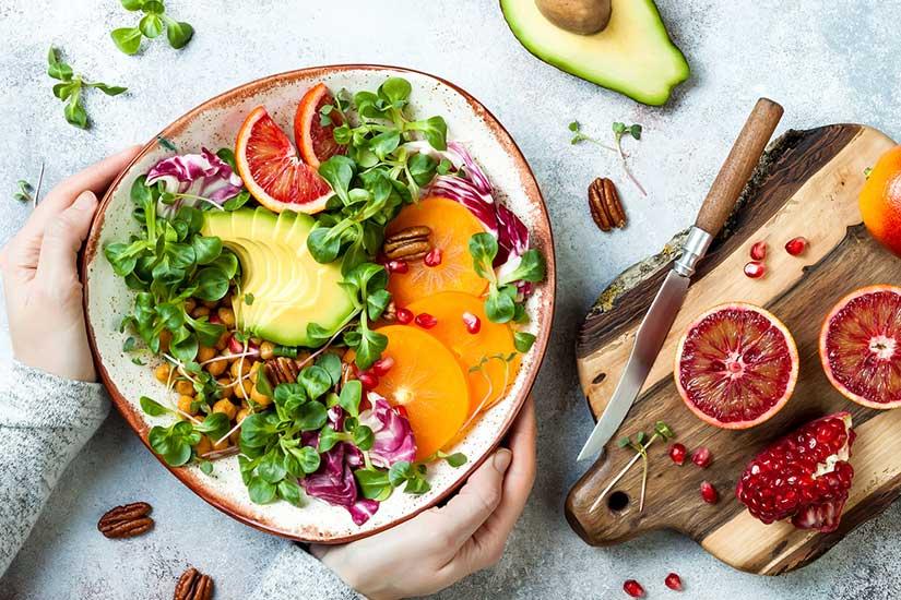 manger des Produits Vegetaux