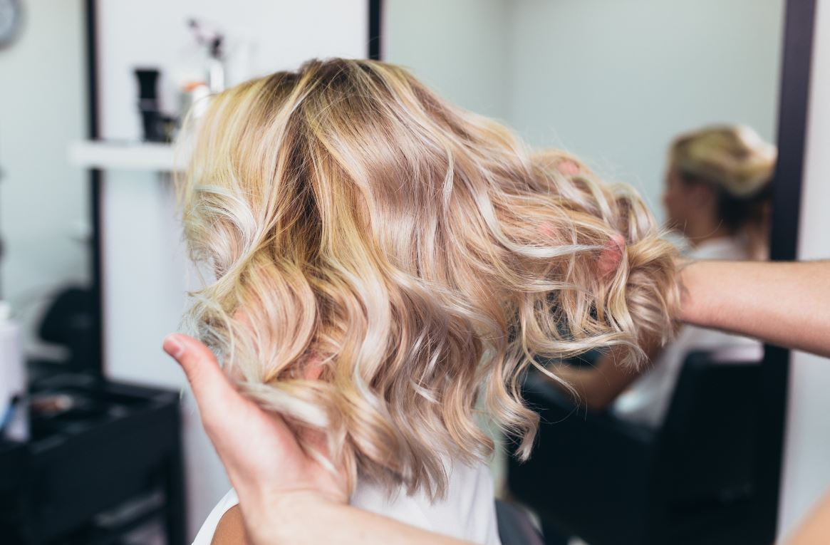 Balayage Blond Cheveux