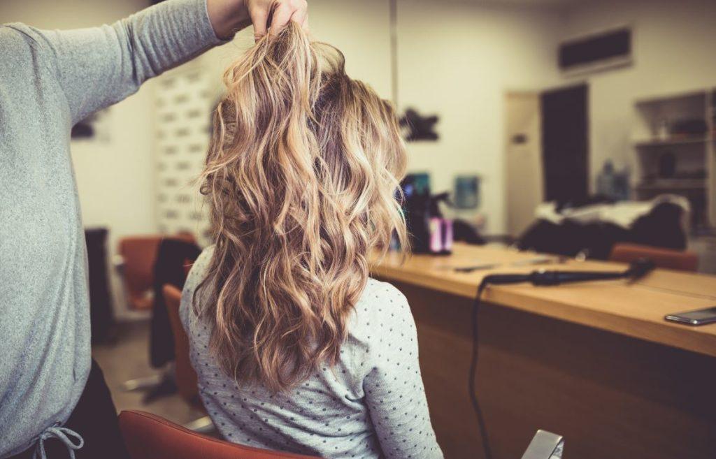 Cheveux Balayage Blond