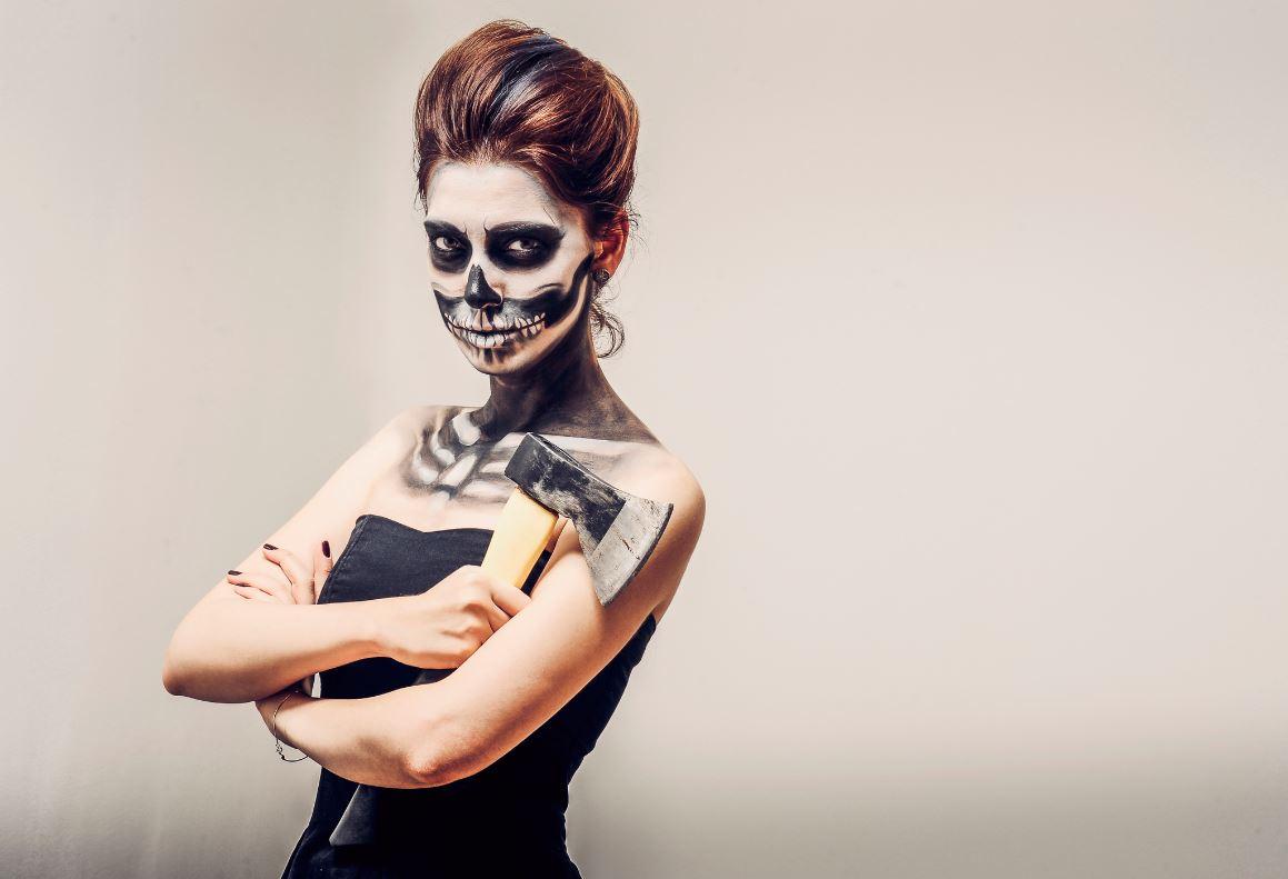 Maquillage Squelette Halloween