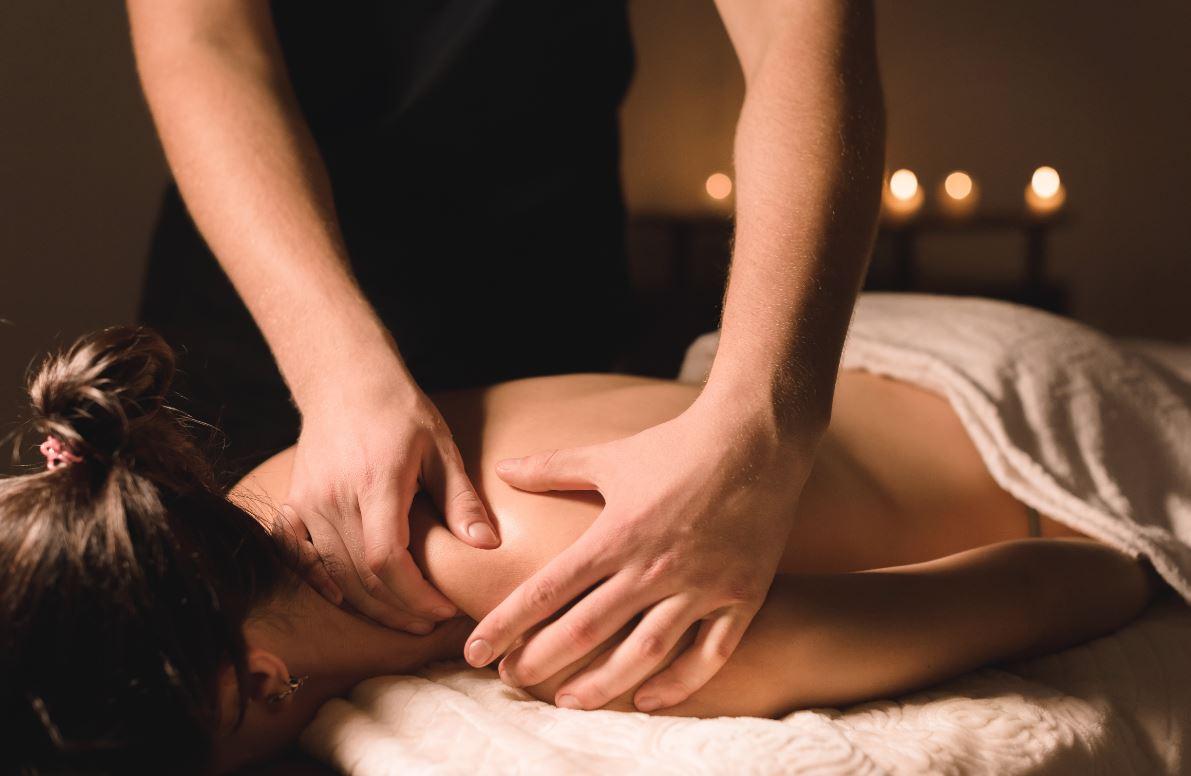 massage du dos technique