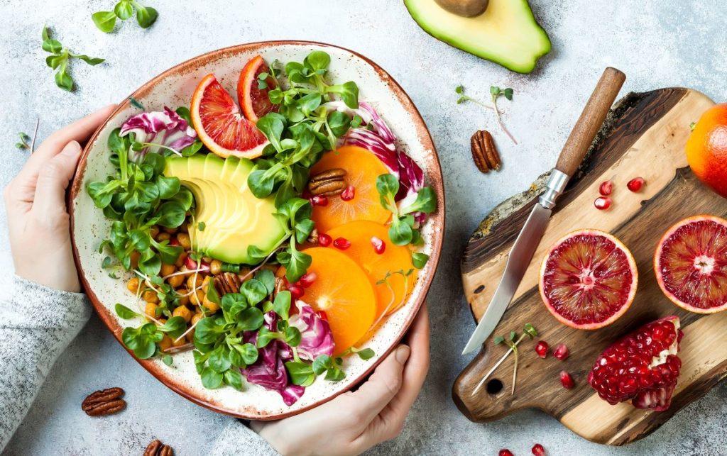 Nourriture Saine Healthy Repas