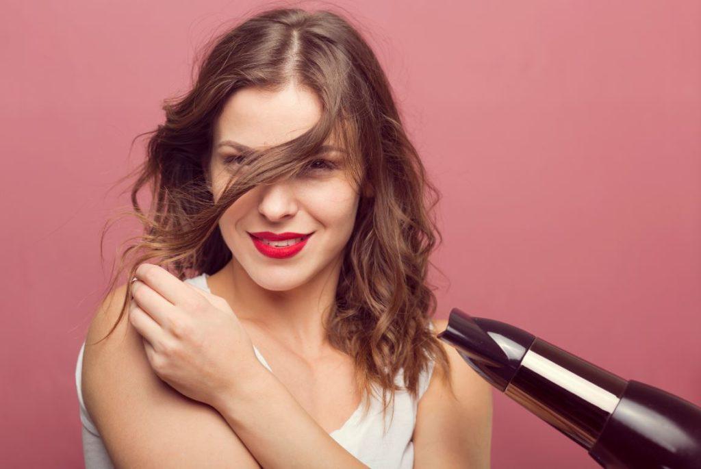 Seche Cheveux Chevelure Lisse