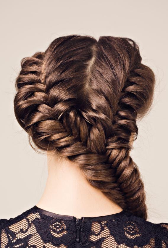 Tresses Collées Cheveux Longs