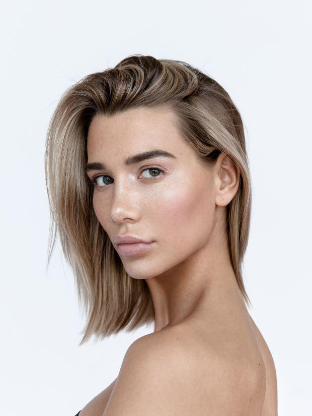 Dégradé Cheveux Mi Long Lisse