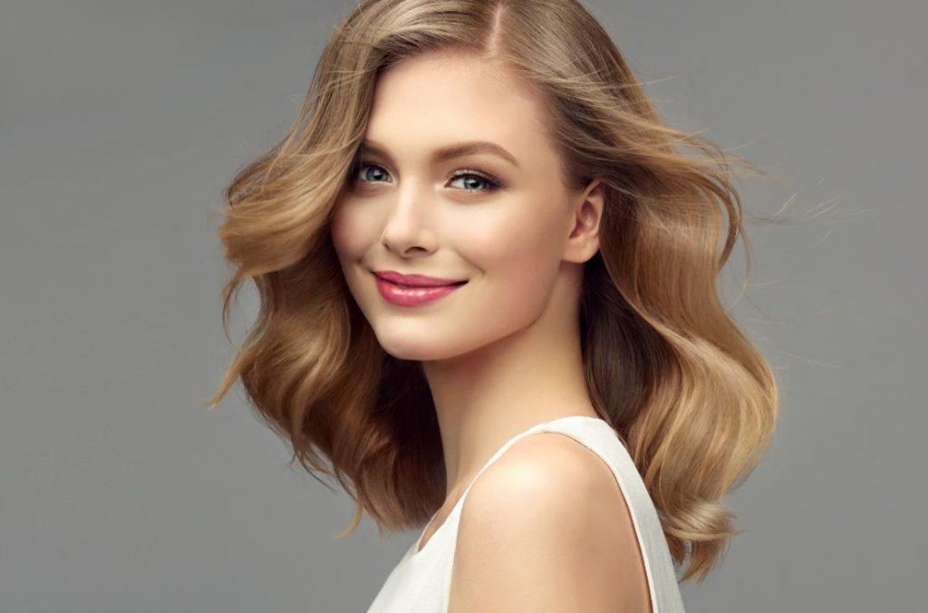 Dégradé Cheveux Mi Long Ondulé