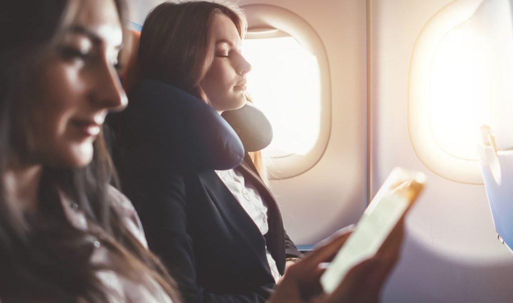 Femme Santé Avion