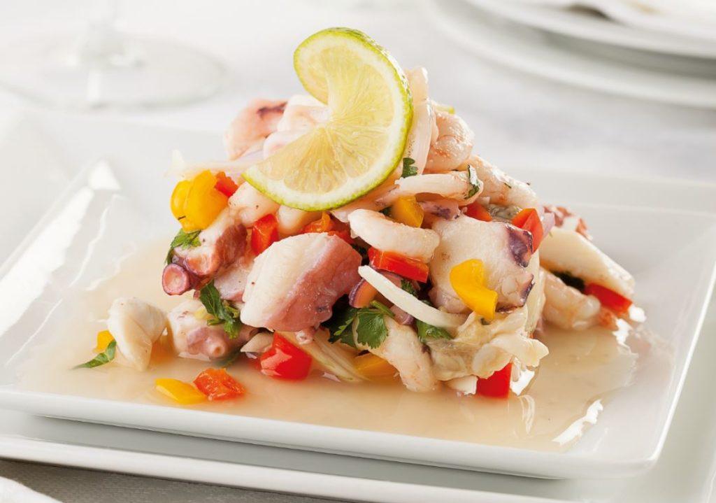 Salade Saint Jacques Regime