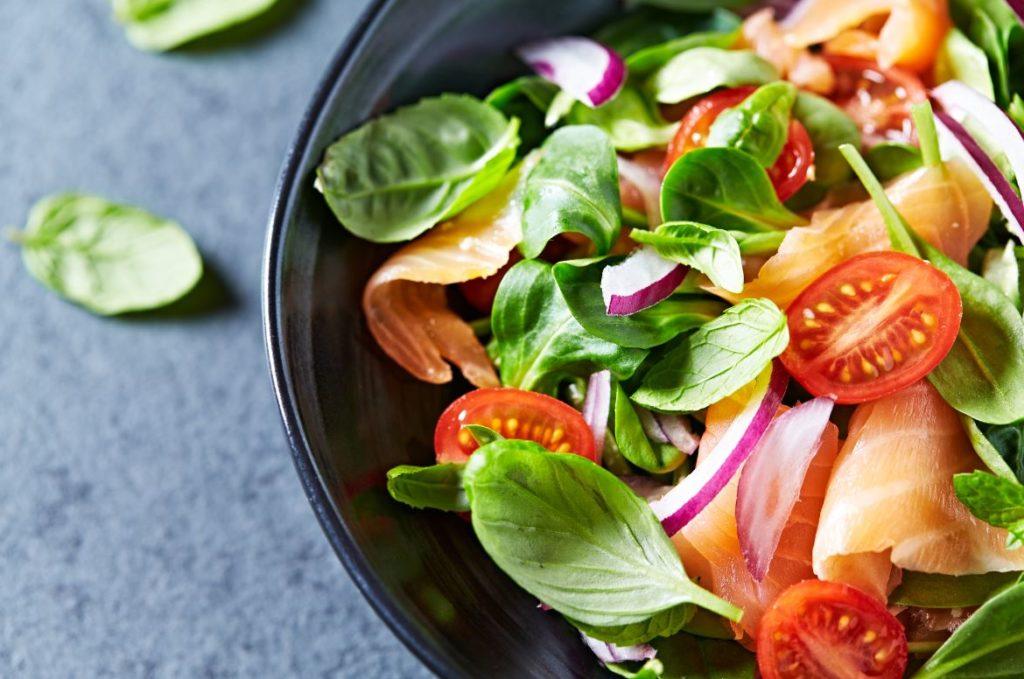 Salade Saumon Minceur