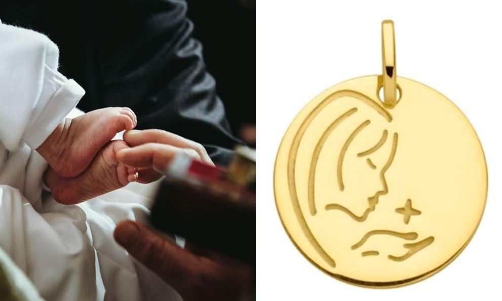 Offrir Medaille Bapteme