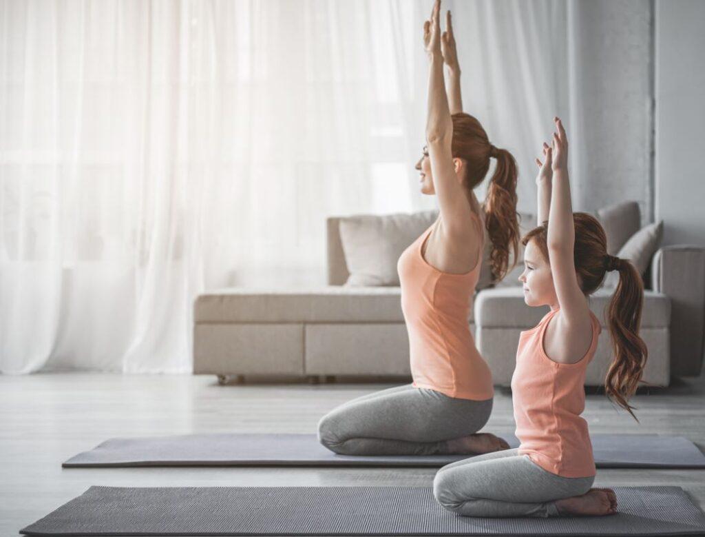 Yoga Enfant Mere Fille