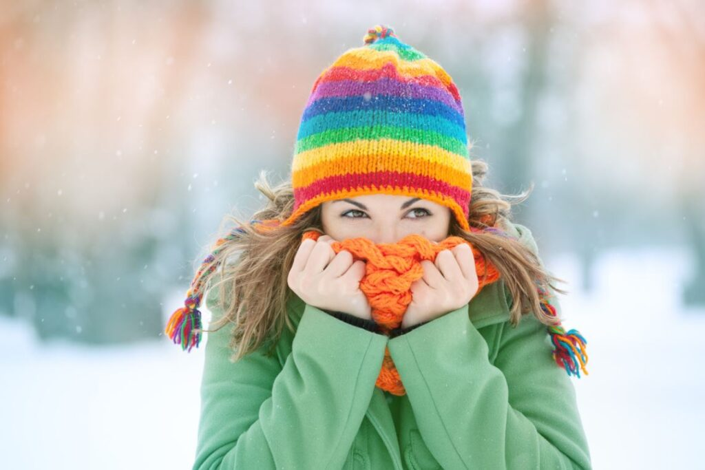 Froid Hiver Peau