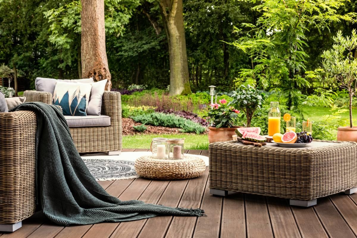 Complet Jardin Salon Avec