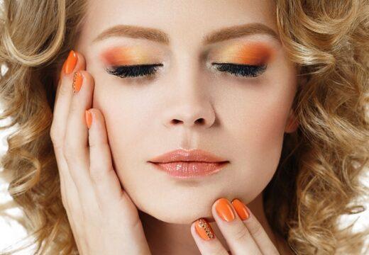 Maquillage Couleur Orange
