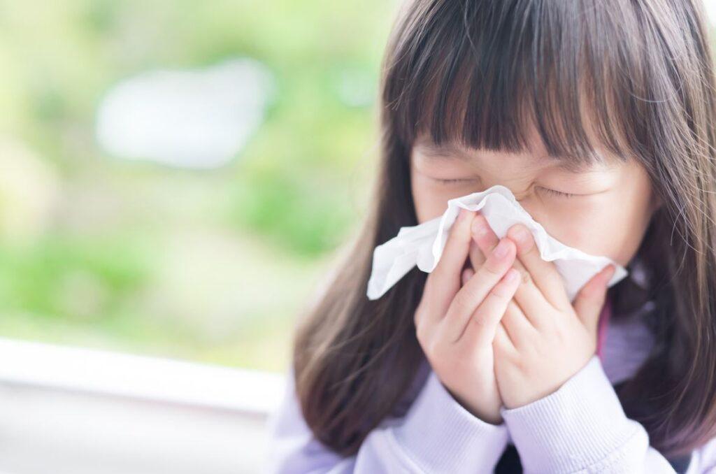 Allergies Respiratoires Enfant