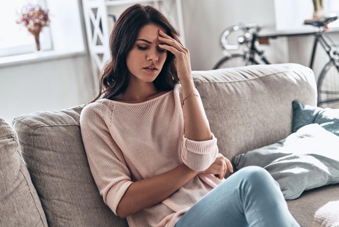 Femme Stressée Oppressée