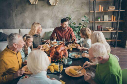 Fête De Famille Repas